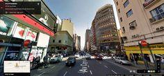 Buenos Aires Google Street View 10 Corrientes y Florida, en pleno centro porteño
