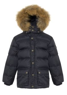 Down jacket with fur from Ver de Terre! a classic design made from good breathable quality and a great winter jacket!