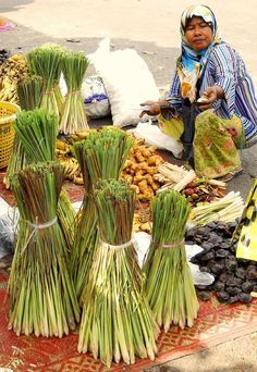 lemon grass or ginger - Sungai Golok, Narathiwat Thailand by sam sun