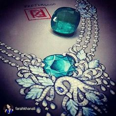 repost from @farahkhanali At #FarahKhanFineJewellery we give life to your dreams via design. Every piece of our jewellery is sculpted by master jewellery craftsmen over hours of laborious craftsmanship giving detail to every gemstone so that it dazzles in all its brilliance making it timeless as it out lives it's wearer and passes down generations truly making it more precious than it already is....We don't love to design, We live to design.