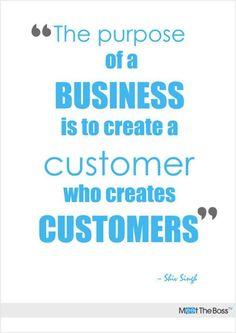 """El #ObjetivodeunNegocio es crear un #consumidores que creen consumidores"""