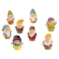 Fisher-Price Little People Disney Princess Snow White and the Seven Dwarfs Gift Set