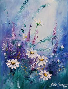 "Photo from album ""Viola Sado"" on Yandex. Texture Painting, Painting & Drawing, Watercolor Flowers, Watercolor Paintings, Arte Floral, Beautiful Paintings, Art Pictures, Painting Inspiration, Flower Art"