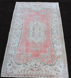 Hey, I found this really awesome Etsy listing at https://www.etsy.com/listing/263368510/pale-pink-beige-rug-7x-5-area-rugs-beige
