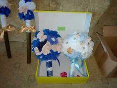 DIY. BRIDAL BOUQUET-Buchet de mireasa handmade Projects To Try, Patterns, Diy, Wedding, Block Prints, Valentines Day Weddings, Bricolage, Do It Yourself, Weddings