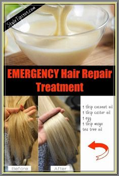 5 Simple Steps Of Hair Remedies For Damaged Hair - Hair Care Tips Natural Hair Mask, Natural Hair Styles, Long Hair Styles, Hair Mask For Damaged Hair, Dry Damaged Hair, Diy Hair Mask For Split Ends, Dry Hair Ends, Dry Hair Mask, Best Diy Hair Mask