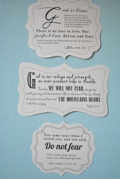 No need to fear! Making a wood plaque for a Bible verse.
