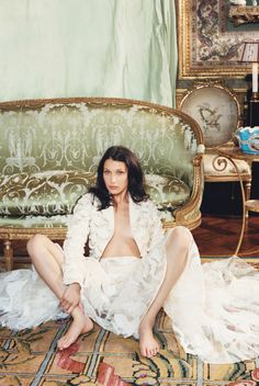 By Victoria Berezhna   Fashion Editorial: Bella Hadid by Venetia Scott -- this editorial seems that for once, the focus isn't on Bella, but on the clothes