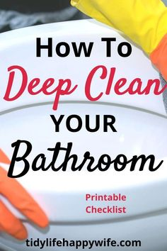 ideas spring cleaning bathroom how to get badroom cleaning ideas ideas spring cleaning bathroom how to get badroom cleaning ideas springClean your bathroom thoroughly like a professionalGet rid of this musty smell and Spring Cleaning Bathroom, Bathroom Cleaning Checklist, Spring Cleaning Checklist, Cleaning Bathrooms, Speed Cleaning, Household Cleaning Tips, Cleaning Hacks, Cleaning Lists, Cleaning Schedules
