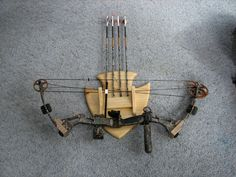 Arrow Head Archery Bow and Arrow Display Rack by tylerswoodworks, $75.00