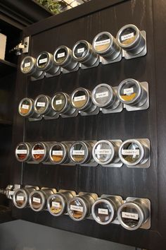 Magnetic Spice Rack DIY                                                                                                                                                     More