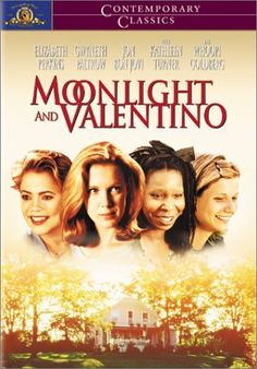 Moonlight and Valentino (1995) Centers on newly widowed college professor Rebecca Lott, who can't cope with her husband's untimely death in spite of support from her best friend, her younger sister and her ex-stepmother. The star-studded cast also includes Peter Coyote and Jon Bon Jovi as the young housepainter who takes a romantic interest in Rebecca.  Elizabeth Perkins, Whoopi Goldberg, Kathleen Turner...TS comedy