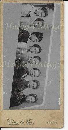 Antique Hungarian cabinet photo with 8 ladies' portrait atelier Décsey late 1800 Cabinet, Portrait, Lady, Vintage Ladies, Antique, Photos, Atelier, Clothes Stand, Pictures