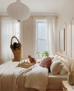 MODERN LOVE, warm muted pink paint color by Backdrop. Best Bedroom Paint Colors, Pink Paint Colors, Bedroom Inspo, Bedroom Decor, Bedroom Ideas, Feeling Meh, Interior Walls, Interior Design, Office Bed