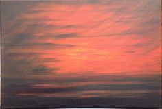 Last Rays of Light - acrylic on canvas. See more at https://www.artfinder.com/tina-hiles