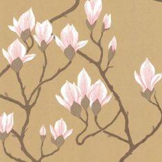 Behang Magnolia