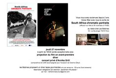 Concert for the documentary South Africa Chromatic Portaits @ARTE television music by Annika Grill with musician Caroline Geryl with songs from Annika And The Froest