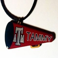 Maroon Sample  Sports Necklaces - Sherroll's Designs