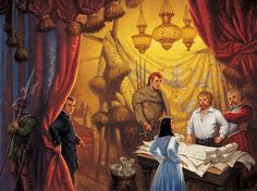 Knife of Dreams cover by Darrell K Sweet. Click to enlarge