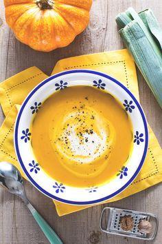 La #vellutata di #zucca è un delizioso primo piatto autunnale, semplice e…