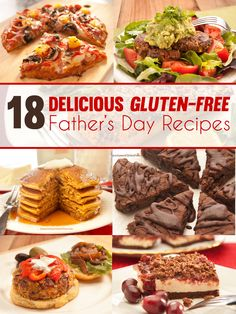 18 Delicious Gluten-Free Father's Day Recipes by Janice Amee's Gluten Free