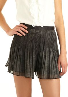 Evening Shimmer Shorts | Mod Retro Vintage Shorts | ModCloth.com - StyleSays