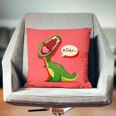 Dinosaur Decor   Dinosaur Pillow   T Rex Gift   Dinosaur Pillow Case   Dinosaur Throw Pillow   Dinosaur Pillow Cover   Dinosaur Cushion