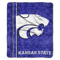 Kansas State Wildcats Sherpa Blanket, Multicolor