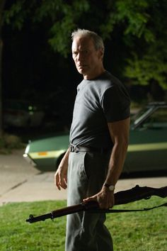 """Clint Eastwood in Gran Torino : """"I've been called a lot of things, but never funny."""""""