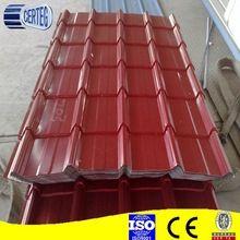 Colorful Roof Tile Rapid Construction Sheet Metal Building Materials Prepainted Embossed Galvanized Galvanized Steel Sheet Metal Roof Metal Roofing Materials