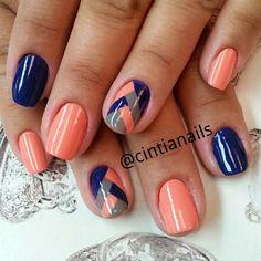 Pin on Nails Pin on Nails Gorgeous Nails, Fabulous Nails, Pretty Nails, Short Nail Designs, Gel Nail Designs, Fingernail Designs, Colorful Nail Designs, Image Nails, Hot Nails