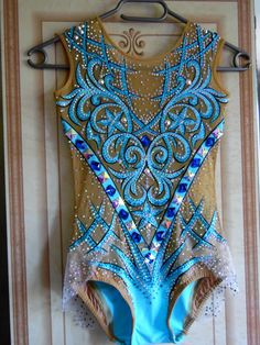 Featured Products Gymnastics Suits, Gymnastics Costumes, Rhythmic Gymnastics Leotards, Dance Leotards, Dance Outfits, Dance Dresses, Blue Leotard, Belly Dance Costumes, Carnival Costumes