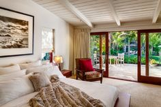 Butterfly Beach Villa - modern - bedroom - santa barbara - Neumann Mendro Andrulaitis Architects LLP
