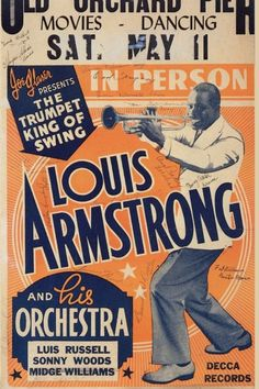 Louis Armstrong post