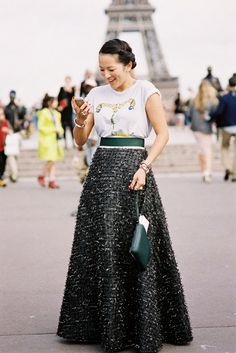 #street #fashion #snap by Vanessa Jackman: Paris Couture Fashion Week