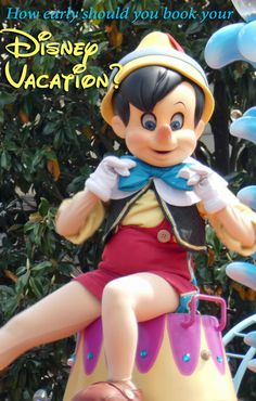 How early should you book your Walt Disney World vacation? Tips for planning at the right time to have a magical trip for your family.