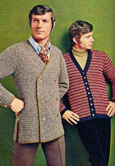 """Ladies, feast your eyes on me and my sweater."" (Funny bad fashion ads)"