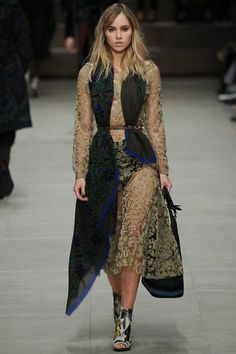 Burberry Prorsum RTW A/W 2014 - this is probably my favourite look from LFW