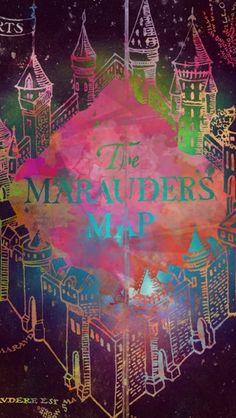 Harry Potter Wallpaper Marauders Map Harry Potter Art James Potter Fans D