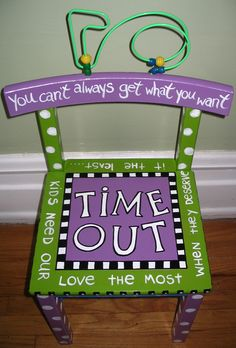 Time Out Chair :-)