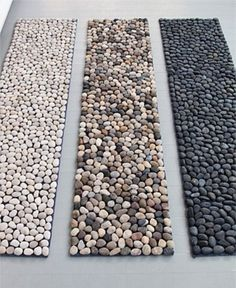 How To Incorporate Pebbles Into Your Home DΓ©cor: 28 Ideas | DigsDigs