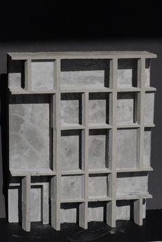 concrete model relief architecture facade