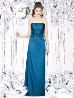 Ocean Blue Bridesmaid