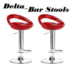 Delta Modern Style ABS Adjustable Swivel Bar Stools - Red (Set of 2) by South Mission, http://www.amazon.com/dp/B0088PKXMO/ref=cm_sw_r_pi_dp_GsNFsb0V2AX41