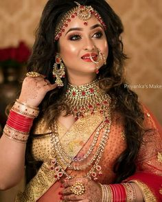 Indian Wedding Photography, Couple Photography, Sumo, Pink Makeup, Saree Wedding, Bridal Looks, Indian Wear, Pretty In Pink, Bride