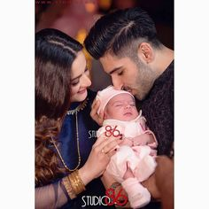 Aiman Khan Shared Beautiful Pictures of Her Daughter Amal Muneeb, Video of Muneeb and Aiman Love Story, Aiman Looks of After and Before Becoming Mother Couple With Baby, Best Couple, Maya Ali, Aiman Khan, Pakistani Bridal Dresses, Pakistani Actress, Pakistani Models, Muslim Couples, Love At First Sight