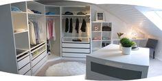 www.heissgeliebtes.blogspot.de My walk in closet, ankleidezimmer, begehbarer kleiderschrank, IKEA PAX KOMPLEMENT KALLAX