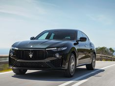 Maserati's updated model year 2019 Levante is now available in Malaysia. The SUV is offered by Naza Italia as a petrol-powered Maserati Levante S in Luxury Car Brands, Luxury Suv, Luxury Travel, My Dream Car, Dream Cars, Maserati Levante, Rolls Royce Cars, Car Goals, Expensive Cars