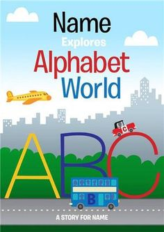Personalized Alphabet World Story Book