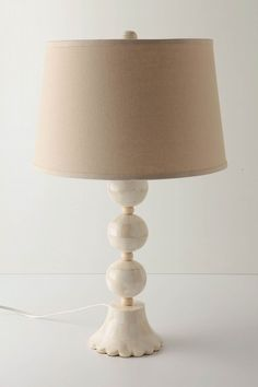 Lamp ... (with a hand painted shade), Love it